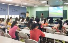 """日语公开课清华园校区行,英语学子体验""""双语""""文化"""
